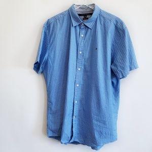 Men's Tommy Hilfiger short sleeve shirt size XL
